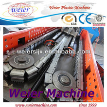 PE PP PVC corrugado pared máquina un tubo corrugado máquina de la pipa