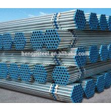 Galvanized ERW steel pipe for fluid transportation