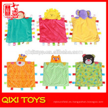 china personalizada suave felpa suave hecho a mano manta de bebé para la venta