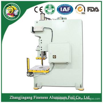 Arbeiten Sie das neueste Folienaluminium um, das Maschine herstellt