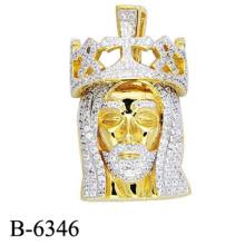 Pendente novo da prata esterlina da jóia 925 da forma do projeto para o homem