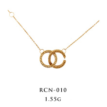 Interlocking Necklace 18K Yellow Gold