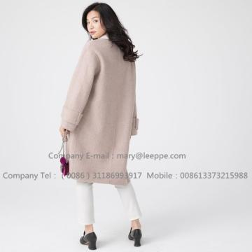 Женщины Sully Alpaca Pug Cashmere Medium Coat