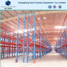 Single Deep Heavy Duty Storage Rack with Pallet