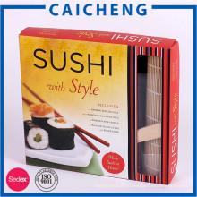 Таможня напечатала легко отобрать коробка бумажной коробки еды суши упаковка