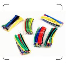 Цветные Термоусадочные трубки упаковать в полиэтиленовый пакет