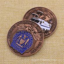 Custom Metal Enamel Us Nypd Challenge Coin
