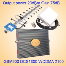 GSM 2g 3G 4G Tri Band Signal Repeater