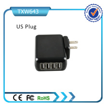 4 USB Universal Plugs Mexico Charger