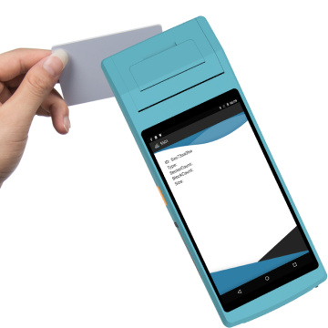 Smart All-in-One-POS-PDA mit Drucker