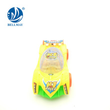 kids gift cartoon lighting plastic car pull string toys for playing