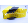 TBF Heavy Duty Truck Wheel Chock /Good quality plastic material wheel chock for car truck tyre stopping for parking125051+125013
