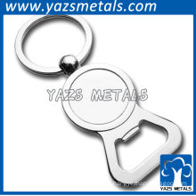 creative bottle opener keychain for beer made in China