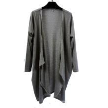 Cardigan tricoté à manches longues pour femme