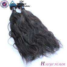 Unverarbeitete keine Verwicklung kein Verschütten peruanisches menschliches Jungfrau-Haar