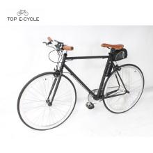 CE standard 700C vélo électrique vélo électrique à engrenages fixes