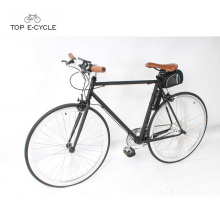 CE standard 700C Colorful fixed gear bike electric bicycle