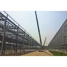 Leichte Stahlkonstruktion Bausteinbauabdeckung mit Stahldachblech