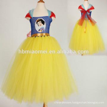 Children clothing Summer new European style flowers Girls clothes Princess handmade tutu dress wholesale