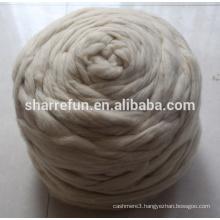18.5-21.5Micron Natural White Chinese Spinning Wool Roving