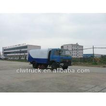 DongFeng 145 caminhão de limpeza de estradas, tanque de poeira 5m3, tanque de água 3m3