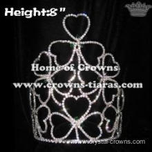 Crystal Clovers Crowns Pageant Crowns
