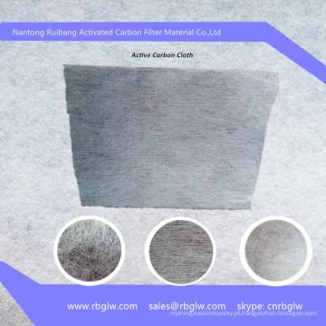 Pano de filtro de zeólita de carbono ativado