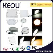 CE/RoHS коммерческие/Крытый 2700k - 6500k LED поверхности панели светло белый кадр