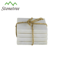 Wholesale New Table Square Mat Pads Marble/Granite Coaster For Cup