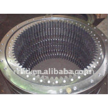 no teeth single row four point angulat contact ball slewing bearing