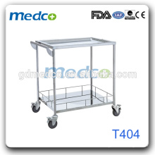 Stainless Steel Mobile Medical Equipment Carts For Hospital T404