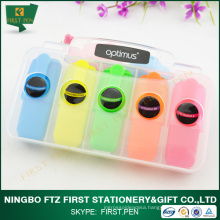 FIRST H025 Promotional Items,5 in 1 Mini Highlighter Pen For Kids