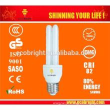 Новые функции! T4 2U 15W энергосберегающие лампы 10000H CE качества