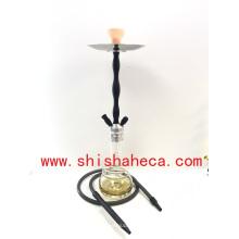 Nouvelle conception en gros en aluminium Narguilé Fumeurs Pipe Shisha Narguilé