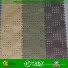 Perforado tejido de poliéster revestido para la ropa