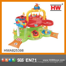 Colorful Plastic Toy Car Station Baby Games