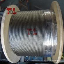 Cuerda de alambre de acero inoxidable SS304
