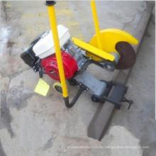 El carril ferroviario de la cortadora de la combustión interna corta el cortador de carril para la venta