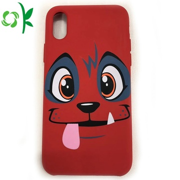Hot Jual Custom Printed Silicone Cell Phone Cover
