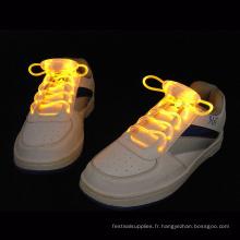 lacets de chaussures led clignotant