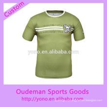 пользовательские высокое качество мужская спортивные футболки с хорошая цена
