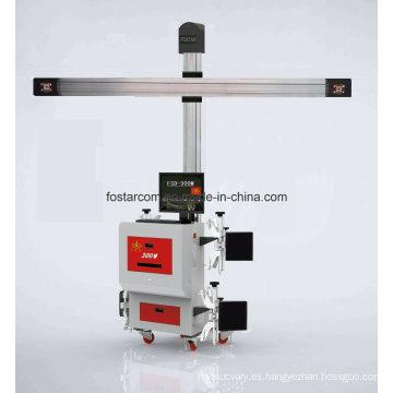 Instrumento de posicionamiento de cuatro ruedas para vagón de carga 3D-24