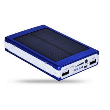 Linterna impermeable del silicón solar 10000mAh Banco de la energía