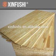 Paneles de madera encolados