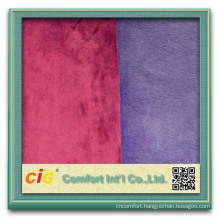 Latest design wholesale three layer fabric for shoes coral fleece for shoes