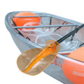 Pêche en plastique Racing Sale Canoe Pc Kayak transparent
