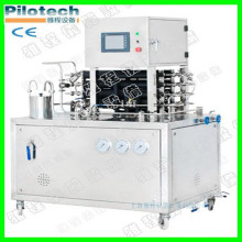 Small Uht Milk Sterilizer Machine Plant