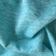 Tissu en lin en coton en lin (QF15-2063)