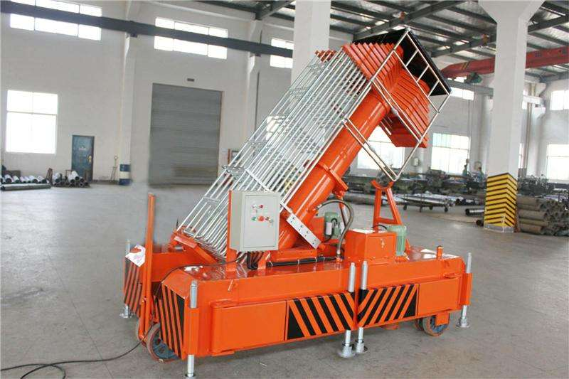 Telescopic Cylindrical Lift Table Hydraulic