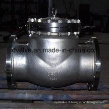 API6d Válvula de retenção de extremidade de flange em aço inox